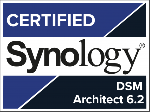 Logo Synology Certified Partner